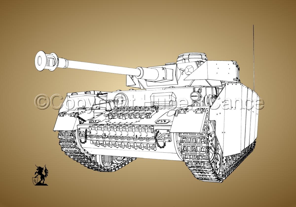 PzKpfw.IV Ausf.G (B&W) #1.3 (large view)