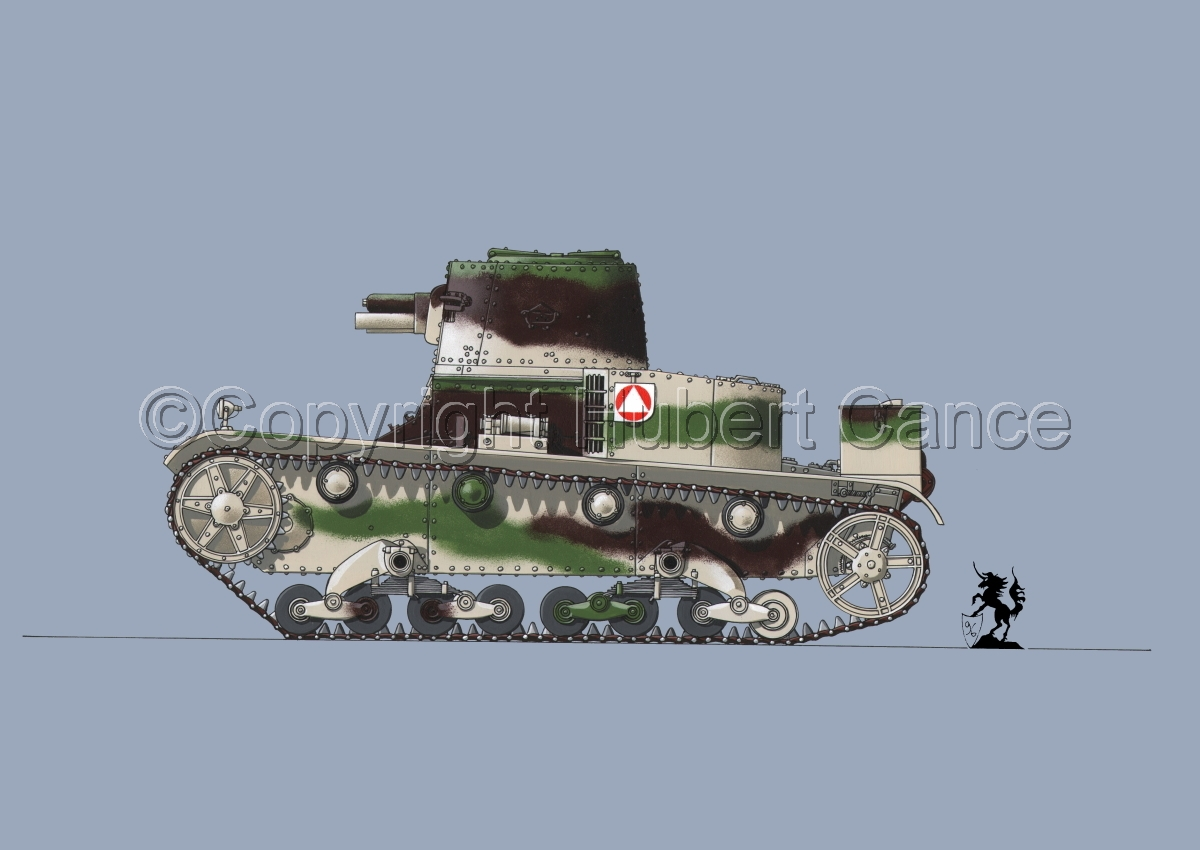 Vickers-Armstrong-Ursus VAU-33, B-Variant #1.2 (large view)