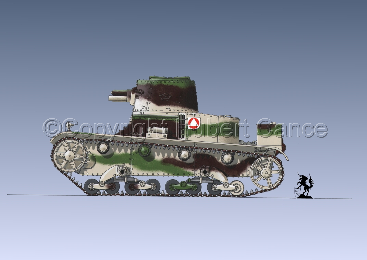 Vickers-Armstrong-Ursus VAU-33, B-Variant #1.3 (large view)