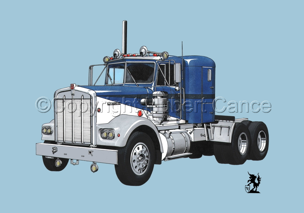 Kenworth W900 Tractor #2 (large view)