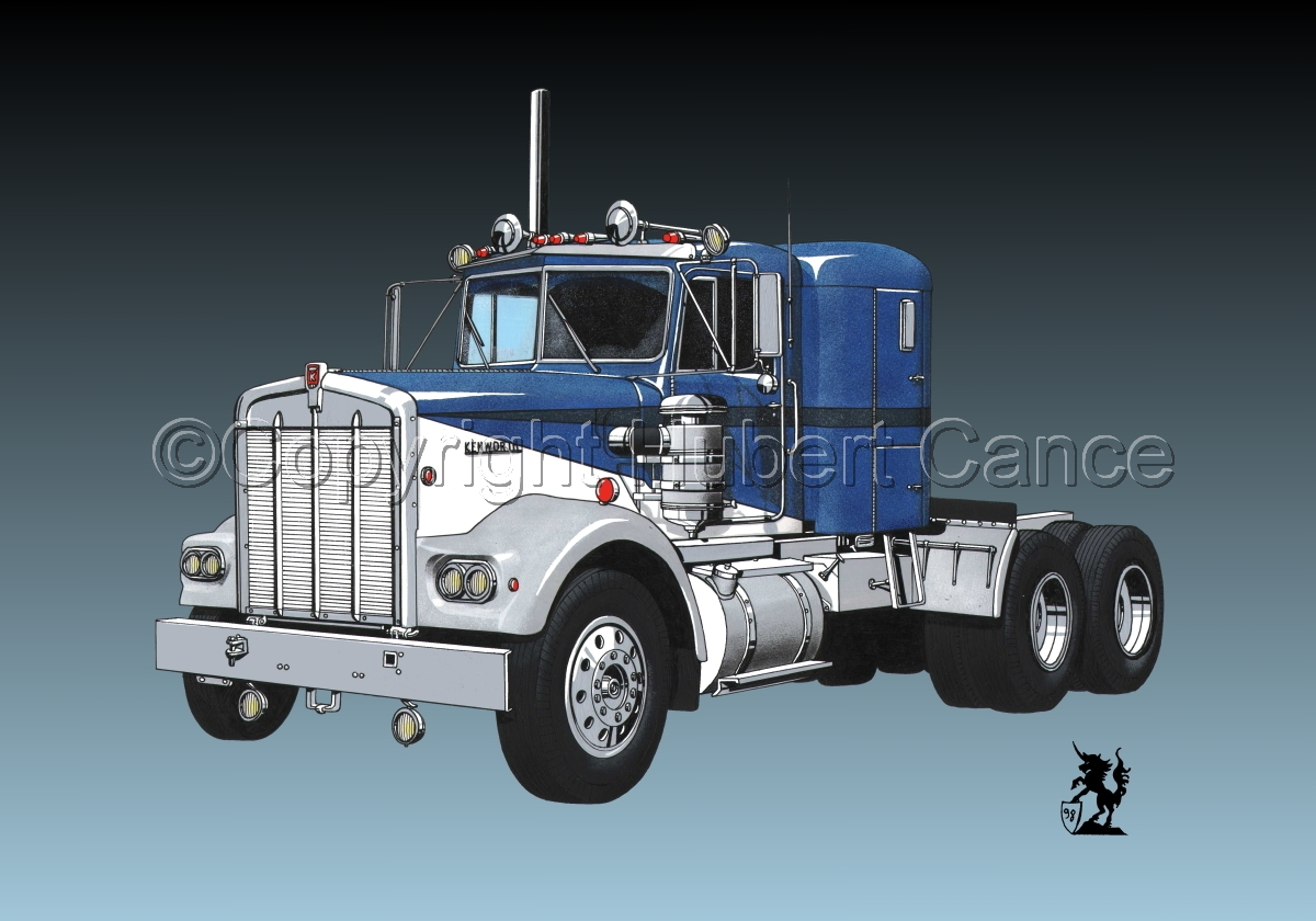 Kenworth W900 Tractor #3 (large view)