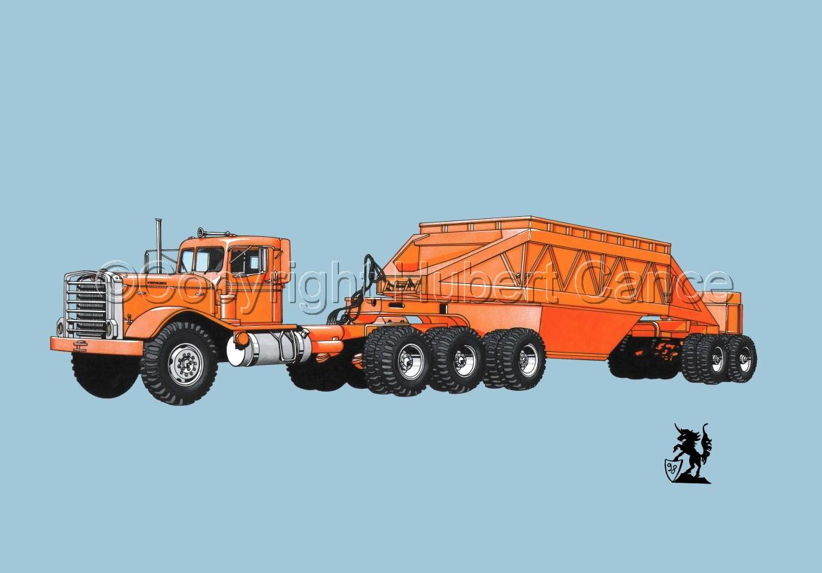 Kenworth Tractor & Dump Trailer #1.2 (large view)