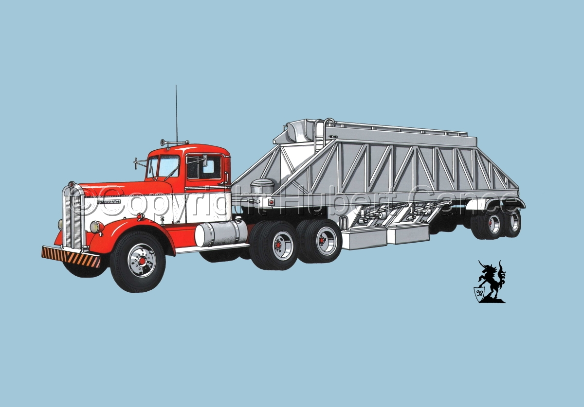 Kenworth Tractor & Dump Trailer #3.2 (large view)