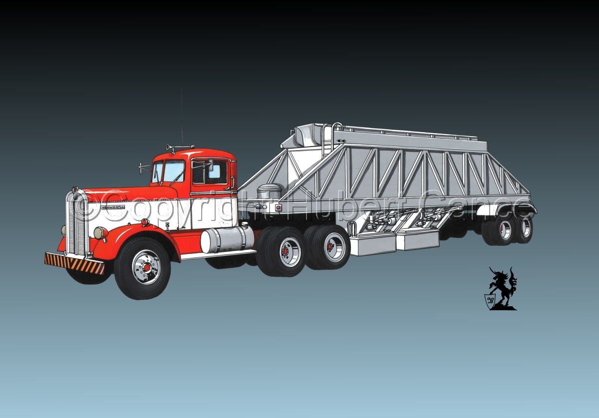 Kenworth Tractor & Dump Trailer #3.3 (large view)