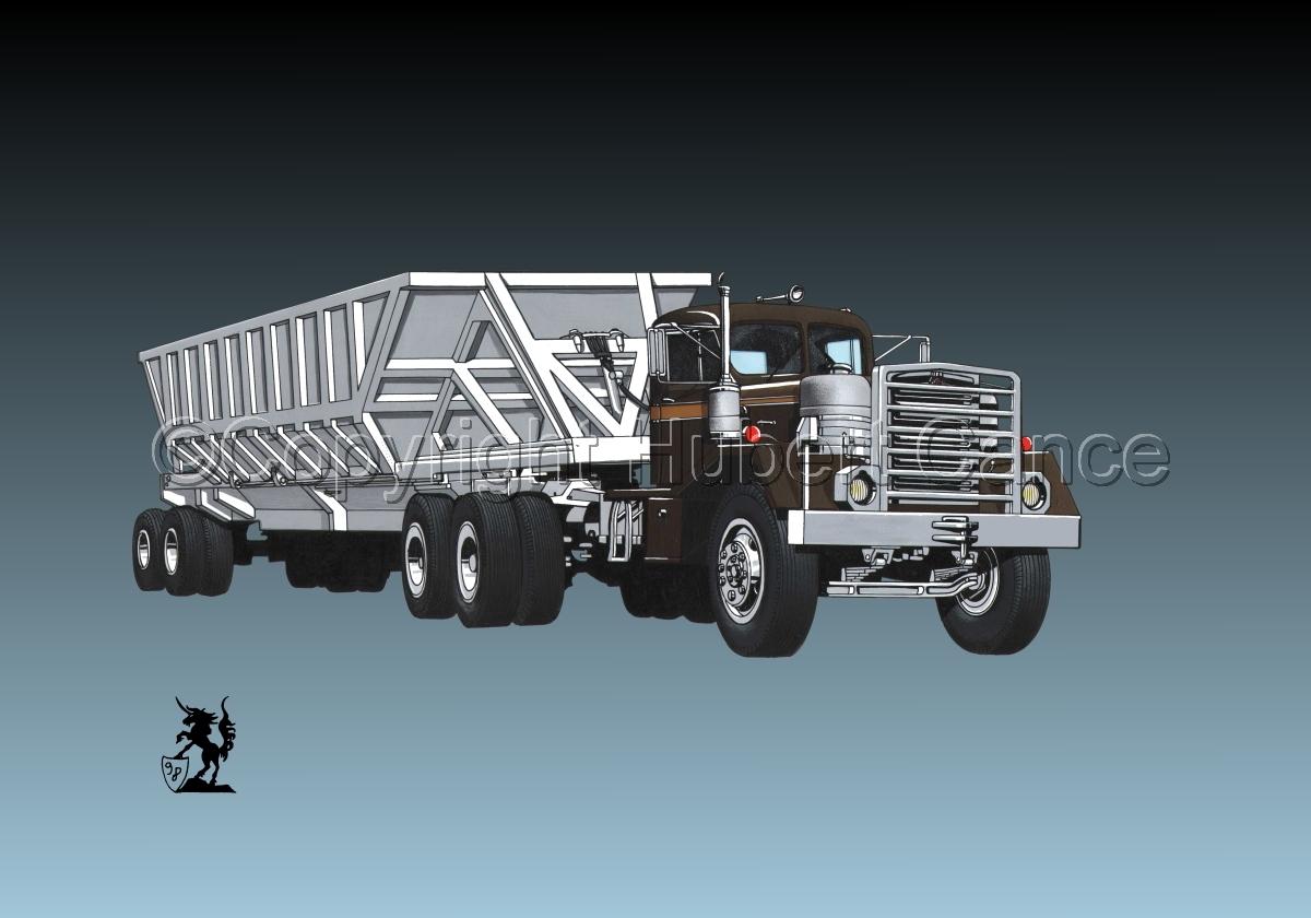 Kenworth Tractor & Dump Trailer #2.3 (large view)