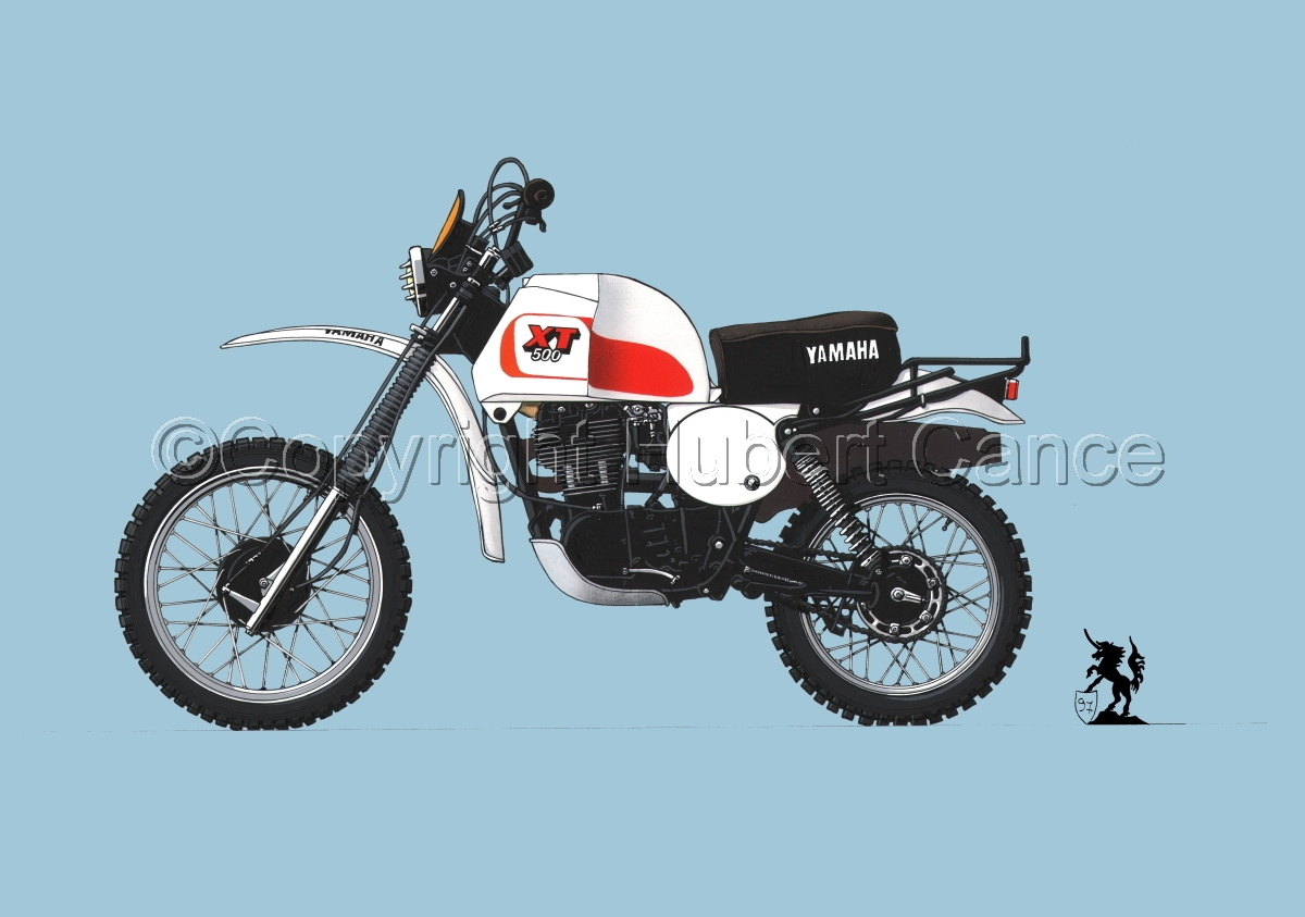 Yamaha XT500 #2 (large view)