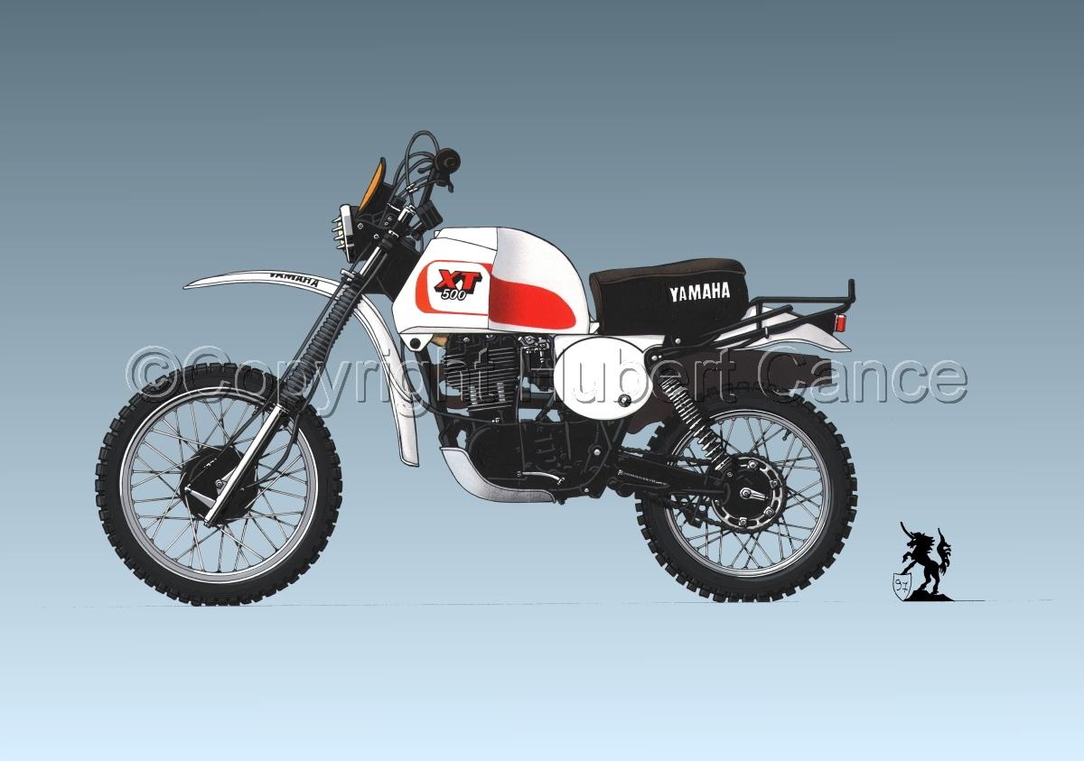 Yamaha XT500 #3 (large view)