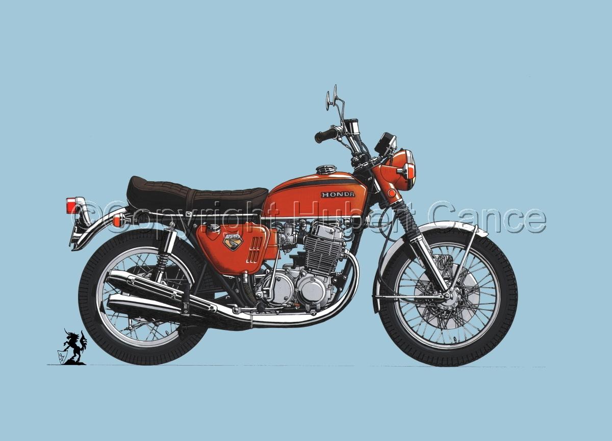 Honda CB750 Four #2 (large view)