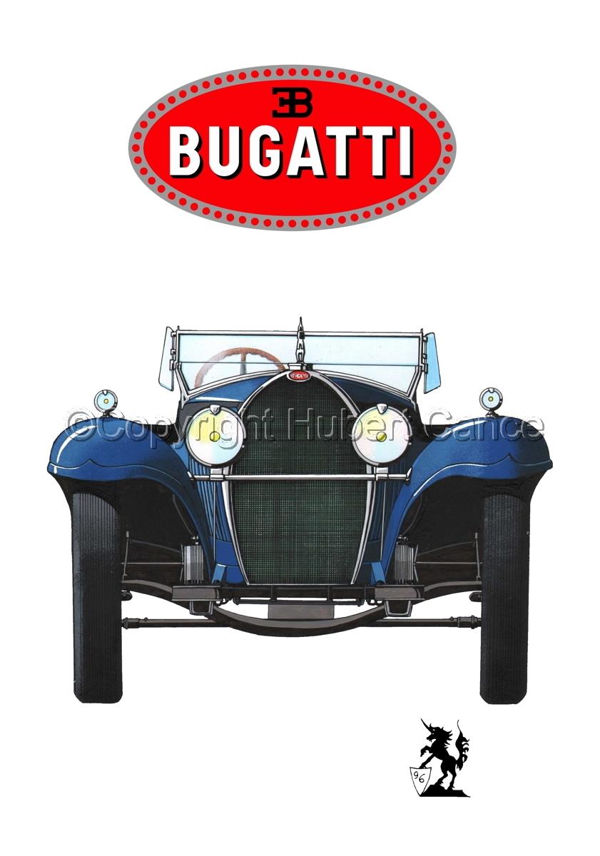 Bugatti Type 50 (Logo #1.1) (large view)