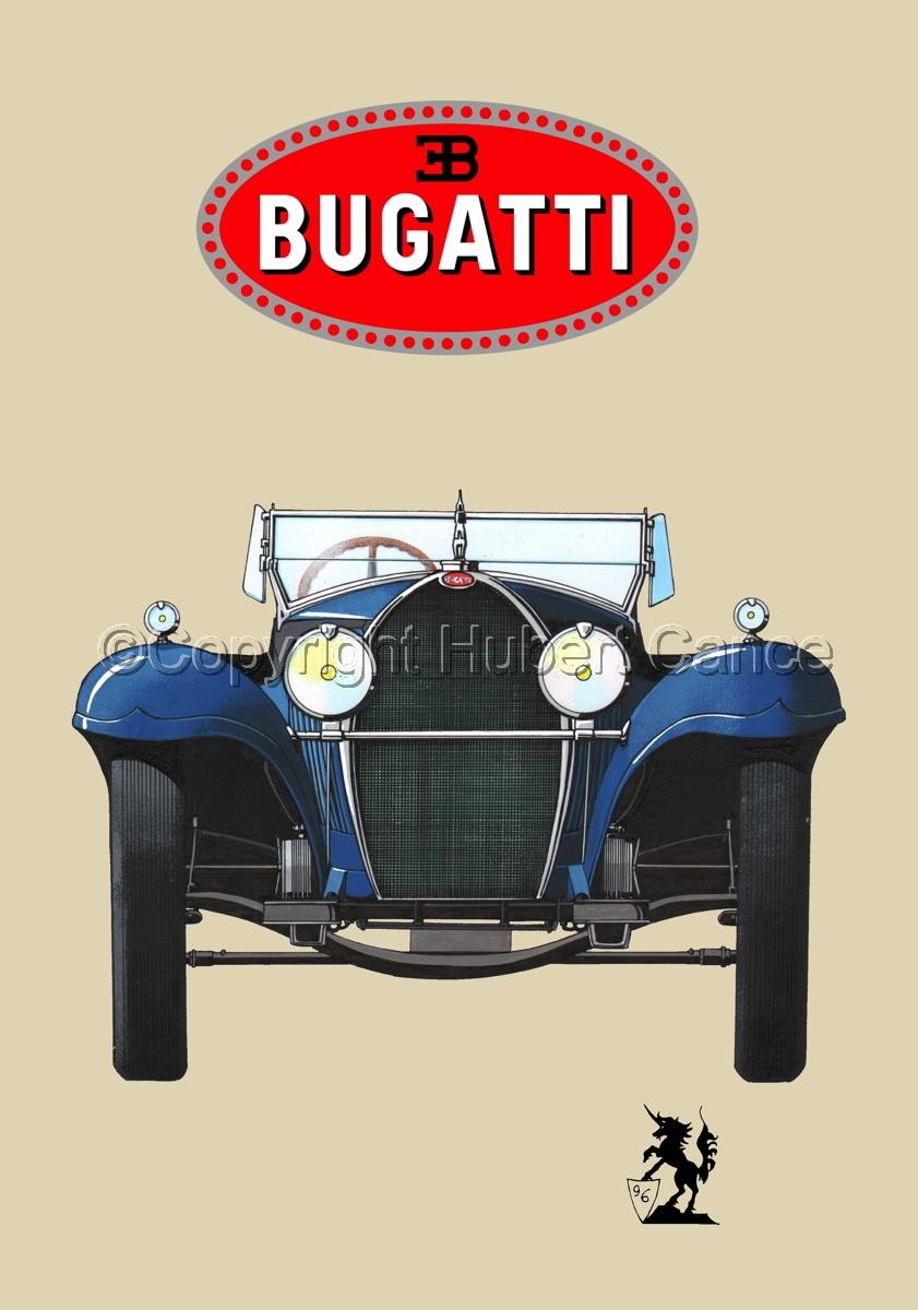 Bugatti Type 50 (Logo #1.2) (large view)