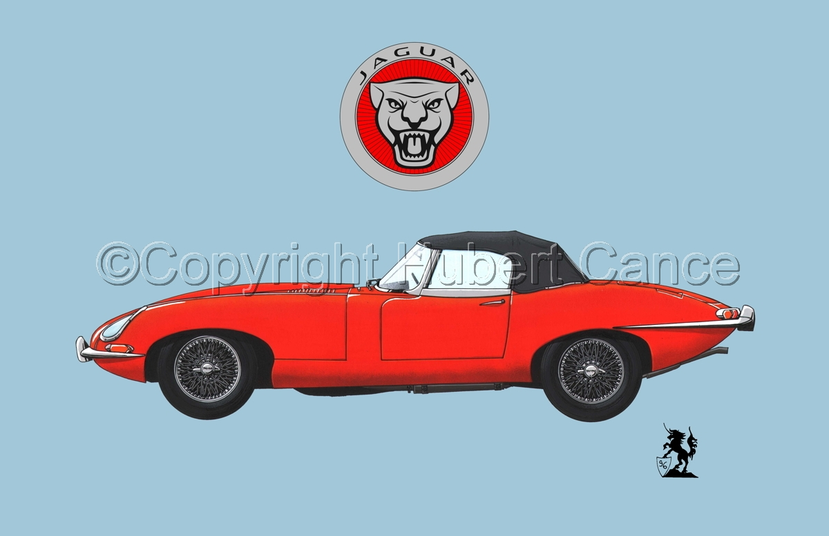 Jaguar Type E (Logo #1.2) (large view)