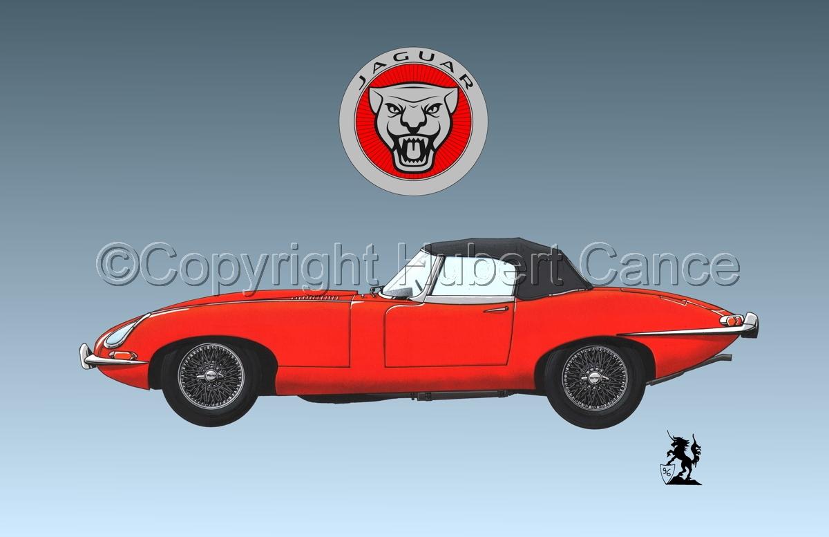 Jaguar Type E (Logo #1.3) (large view)