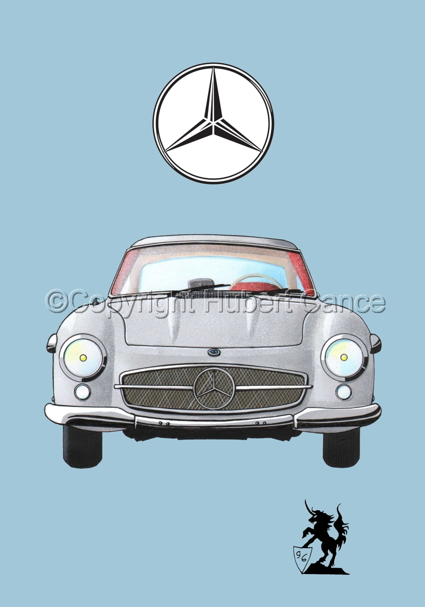 Mercedes 300SL (Logo #1.2) (large view)