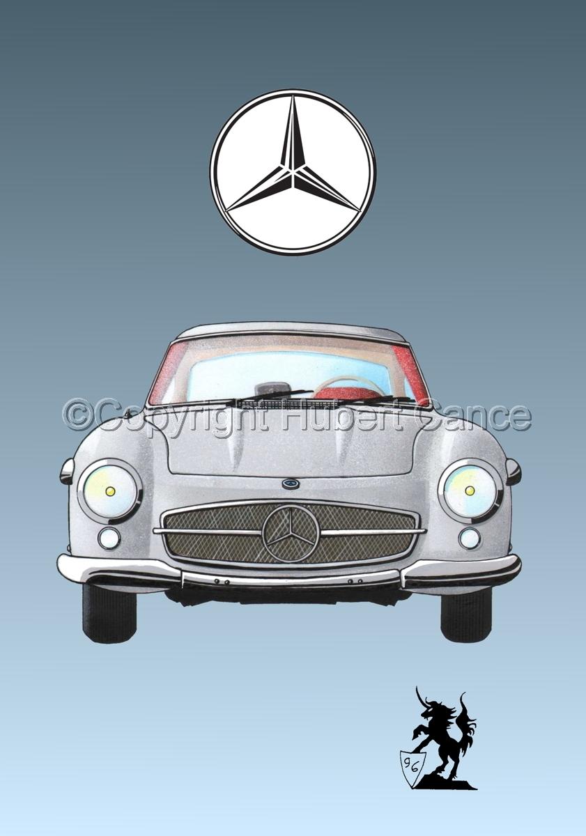 Mercedes 300SL (Logo #1.3) (large view)
