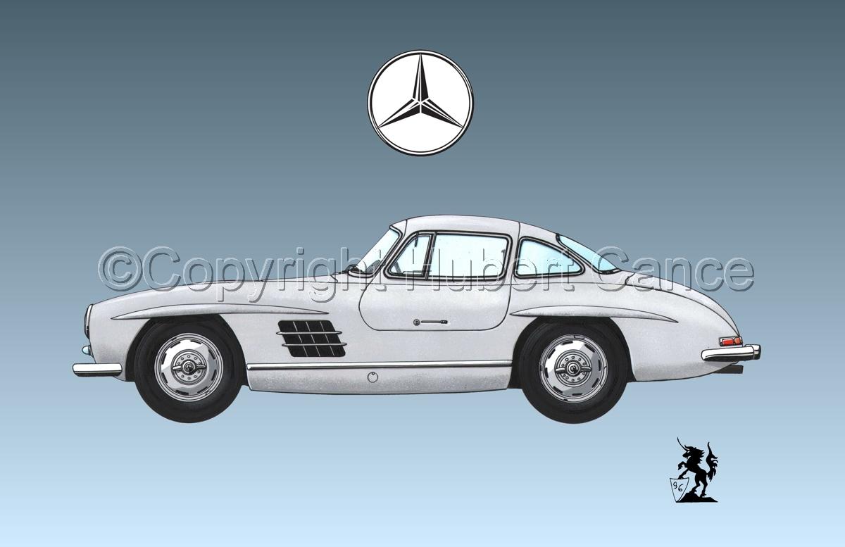 Mercedes 300SL (Logo #2.3) (large view)
