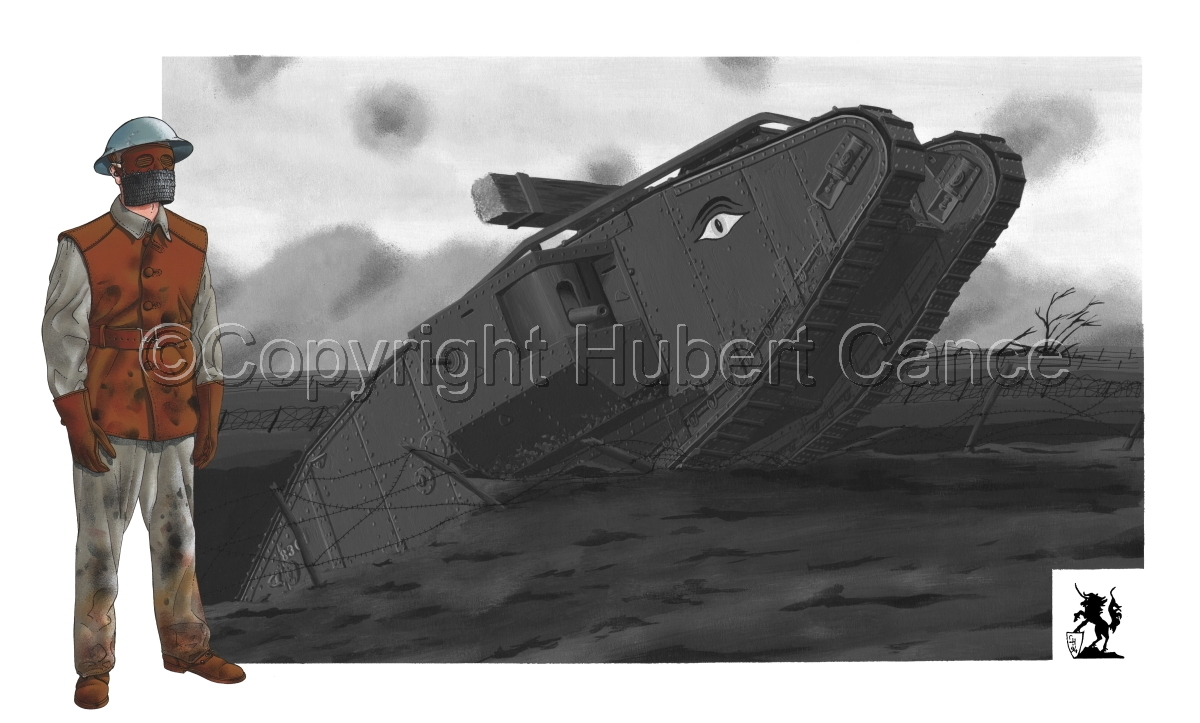 Tank Mk.IV Crewman (large view)