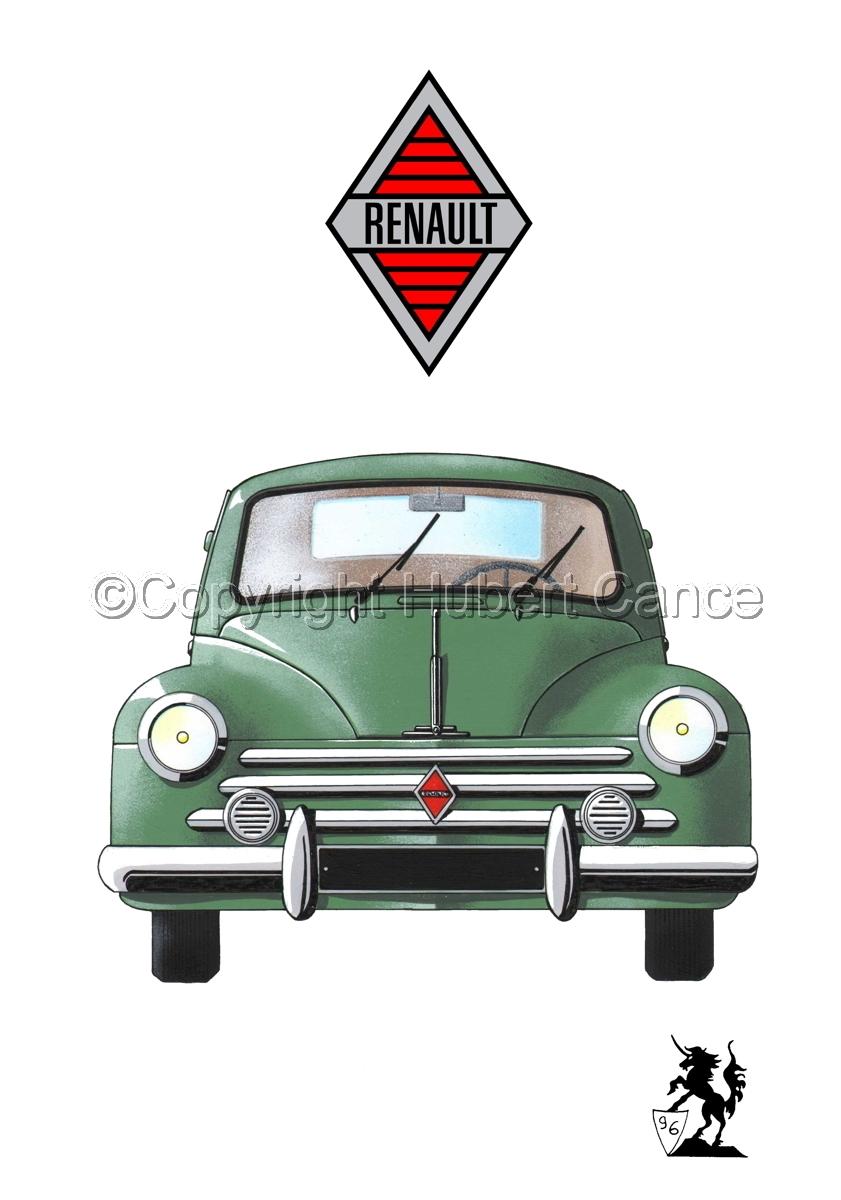 Renault 4 CV (Logo #1.1) (large view)