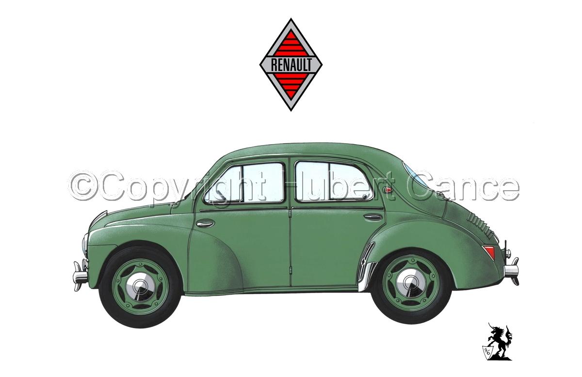 Renault 4 CV (Logo #2.1) (large view)