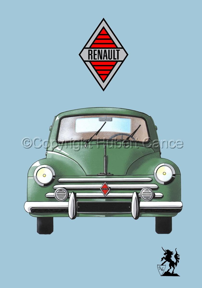 Renault 4 CV (Logo #1.2) (large view)