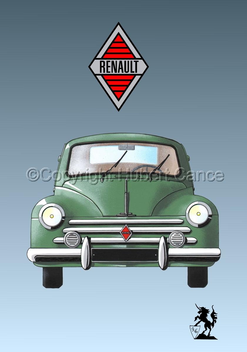 Renault 4 CV (Logo #1.3) (large view)