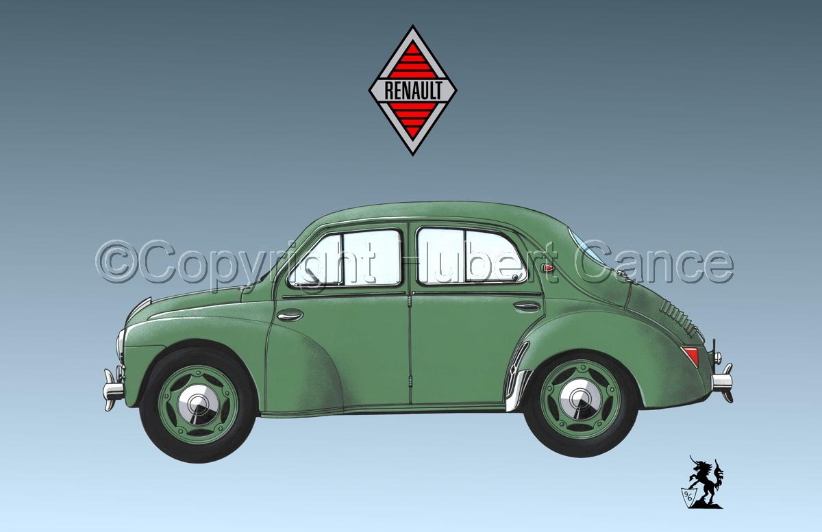 Renault 4 CV (Logo #2.3) (large view)