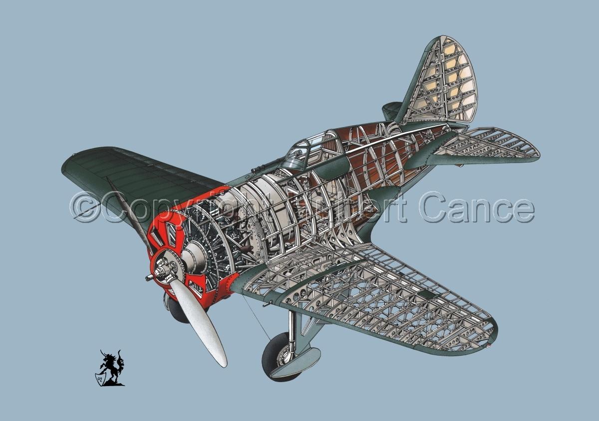 Polikarpov I.16 Type 5 #1.2 (large view)