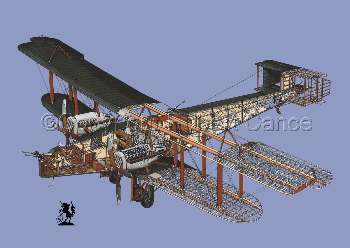 Handley Page O/400 #1.2 (large view)
