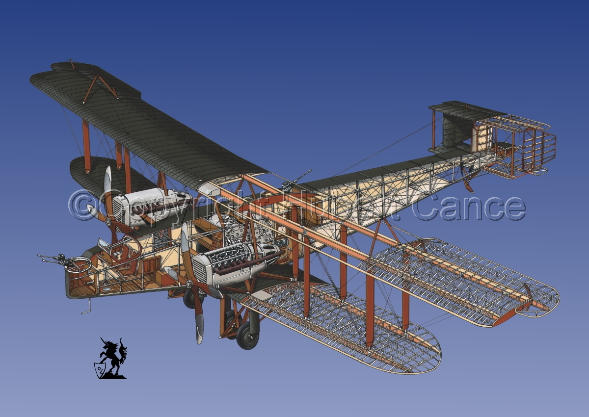Handley Page O/400 #1.3 (large view)