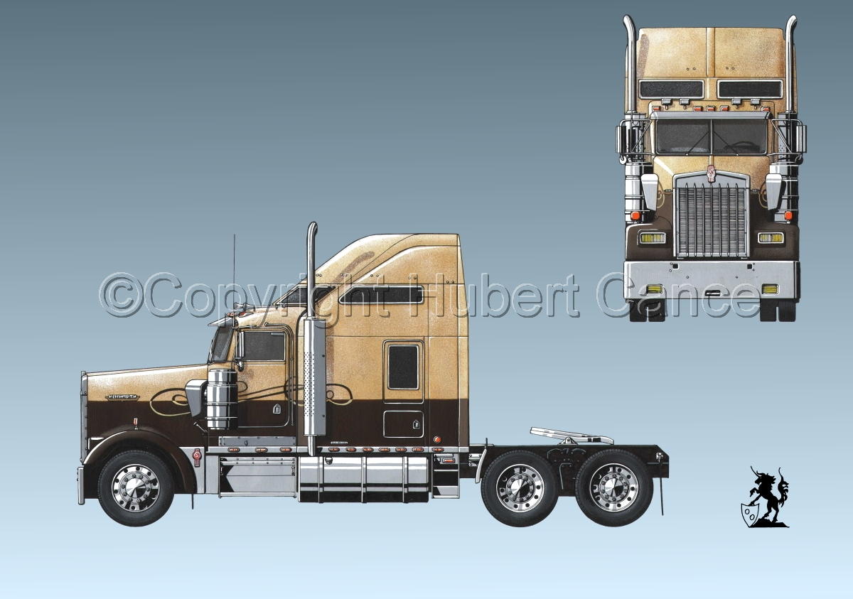 Kenworth W900L #0.3 (large view)
