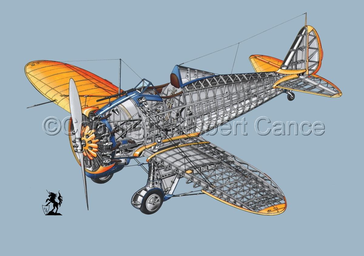 "Boeing P-26B ""Peashooter"" #1.2 (large view)"