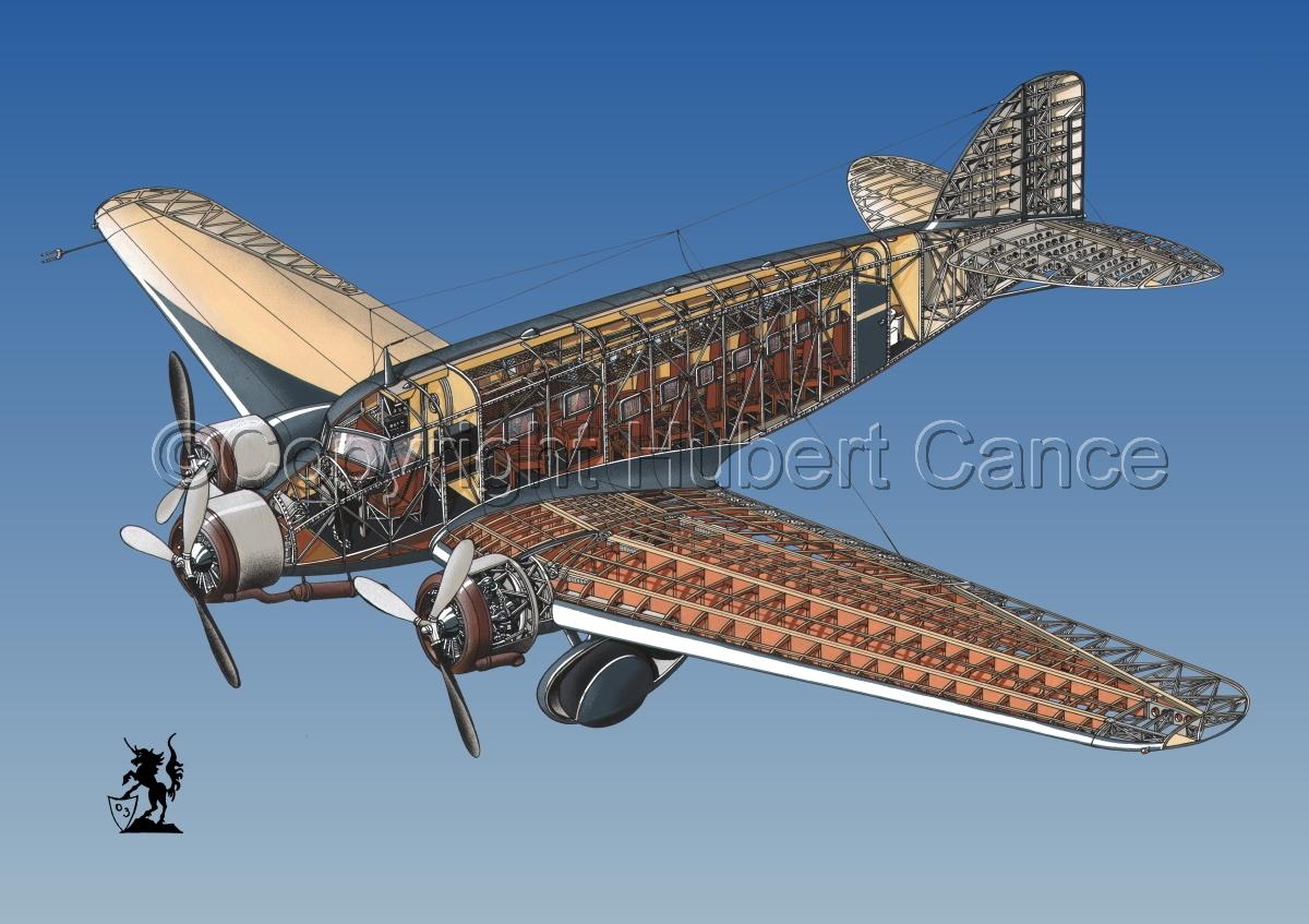 Savoia Marchetti SM-73 #1.3 (large view)