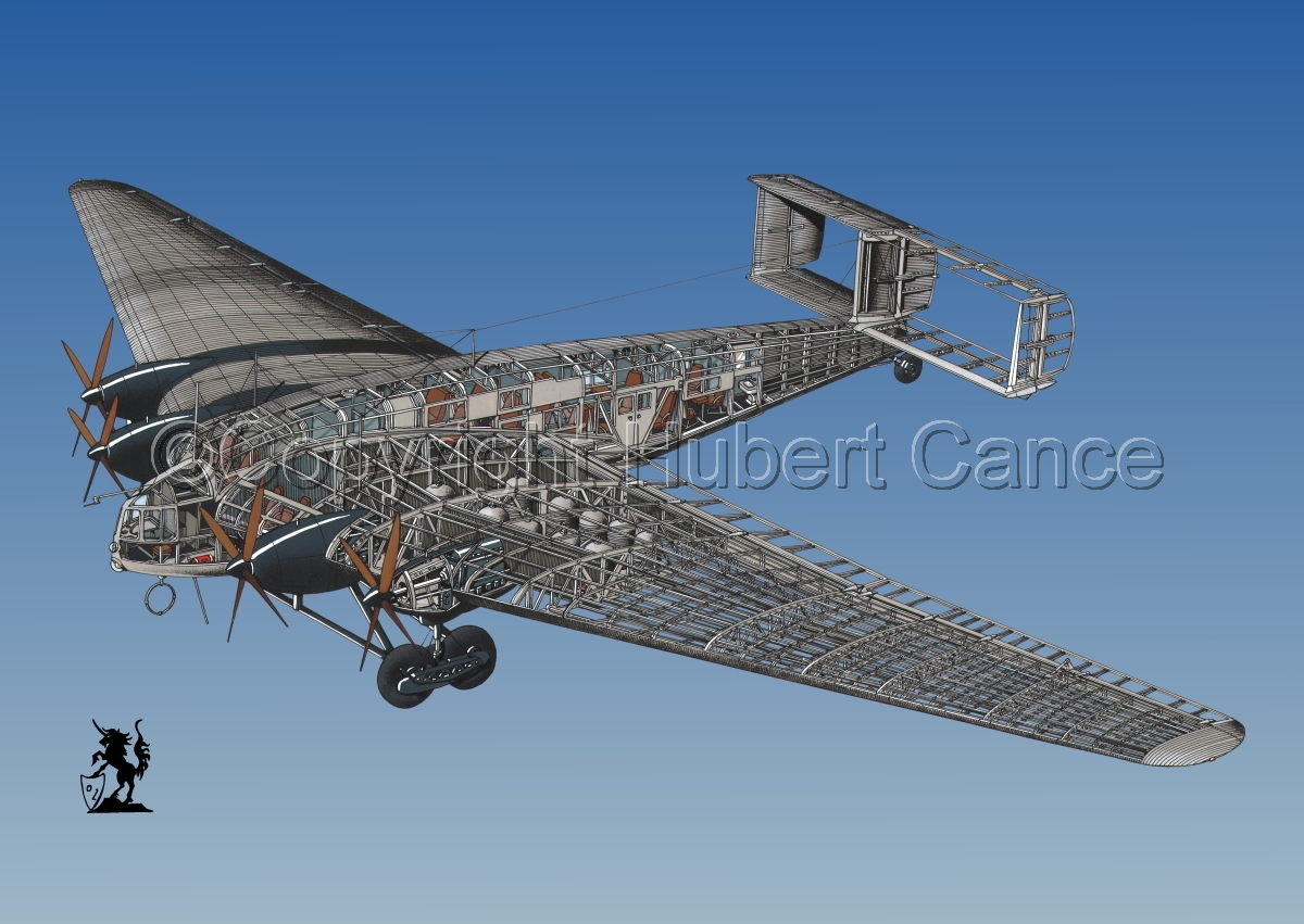 Junkers G 38 ce #3 (large view)