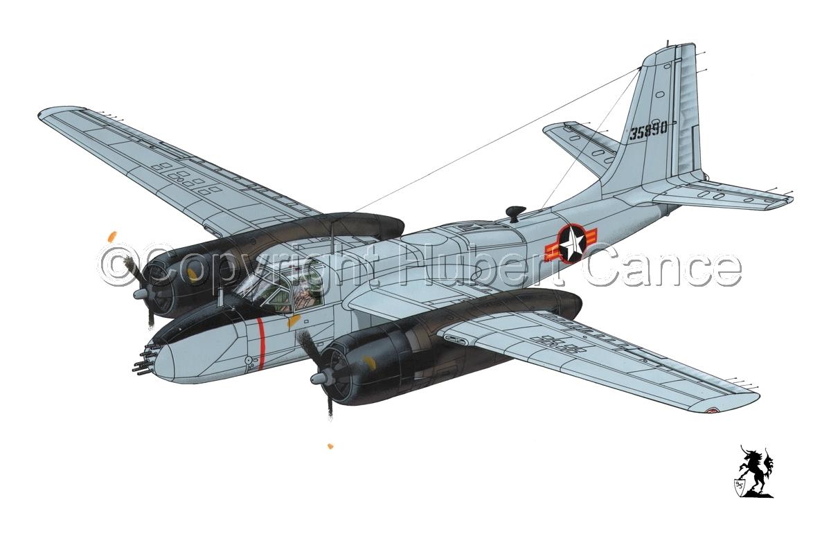 "Douglas B-26B ""Invader"" (large view)"