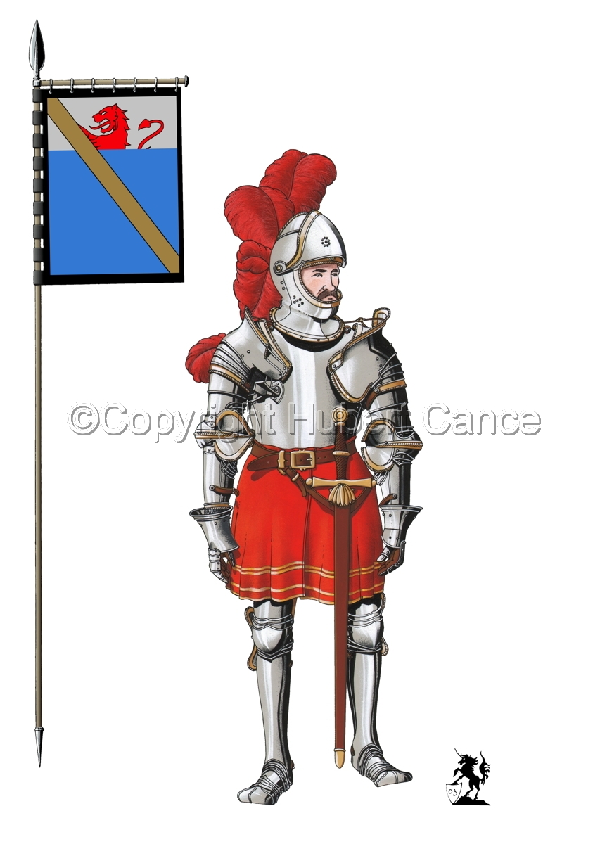 Pierre III Terrail, Knight of Bayard (1524) (Banner #1) (large view)