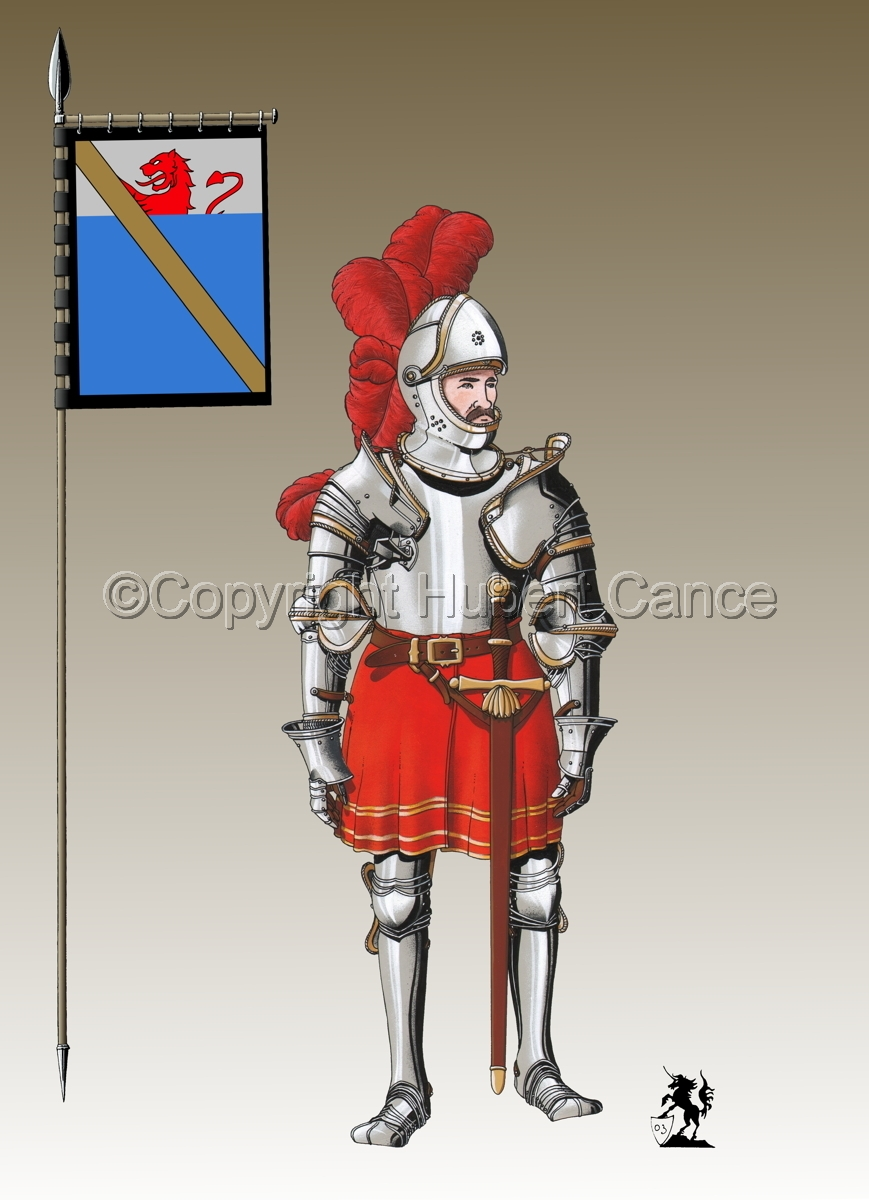Pierre III Terrail, Knight of Bayard (1524) (Banner #3) (large view)