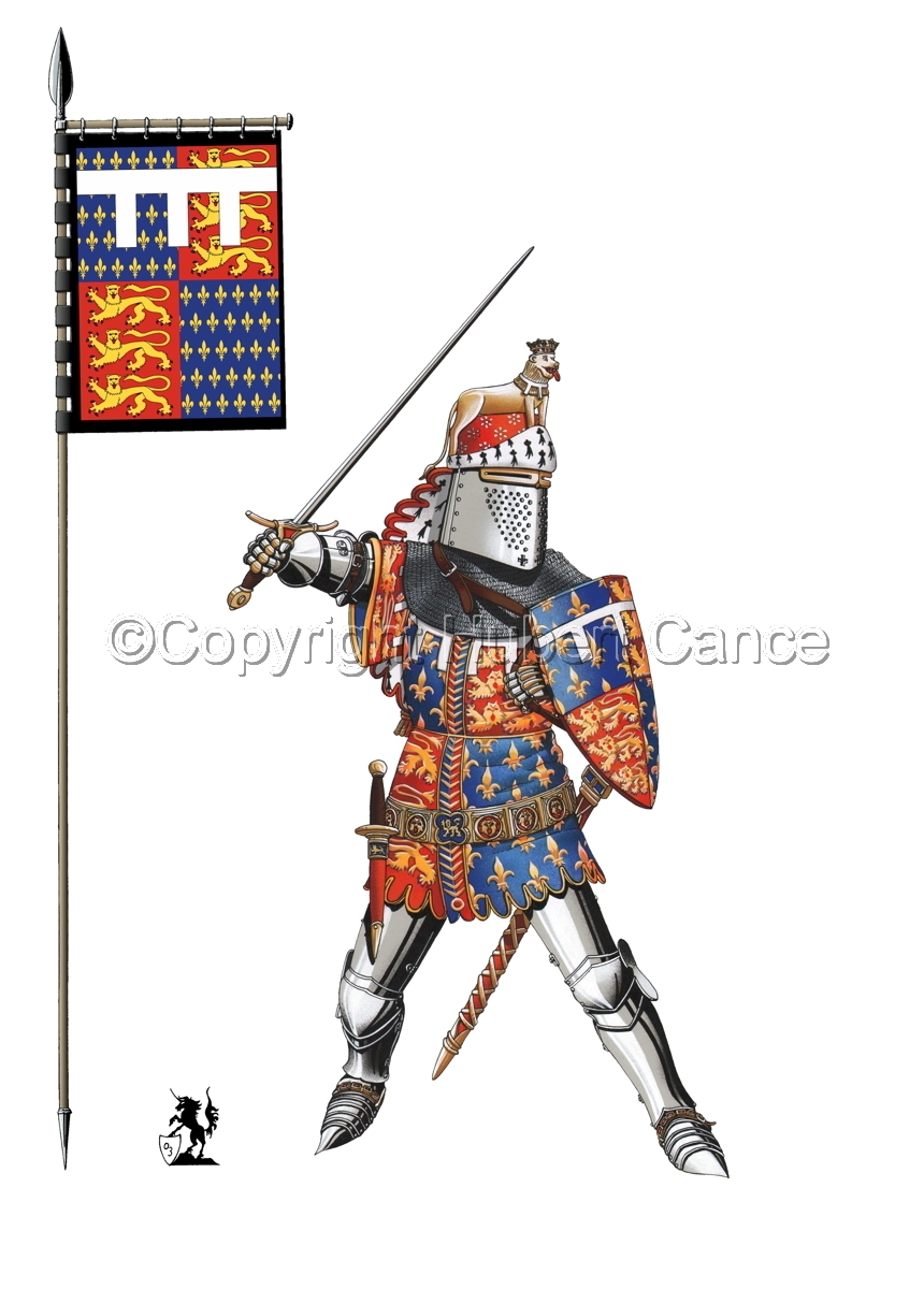 Edward of Woodstock, Black Prince (1376) (Banner #1) (large view)