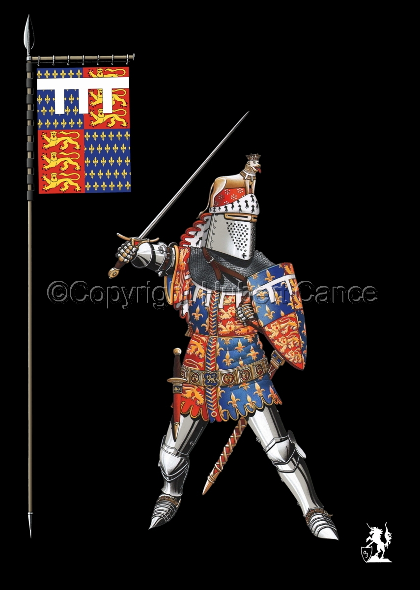 Edward of Woodstock, Black Prince (1376) (Banner #2) (large view)