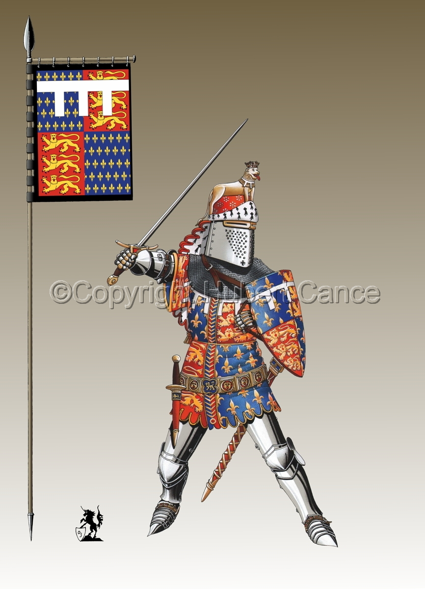 Edward of Woodstock, Black Prince (1376) (Banner #3) (large view)