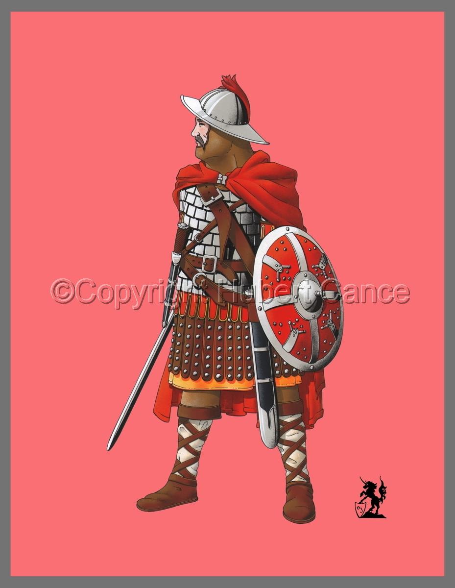Guard of Emperor Carolus Magnus (800) (Banner) (large view)