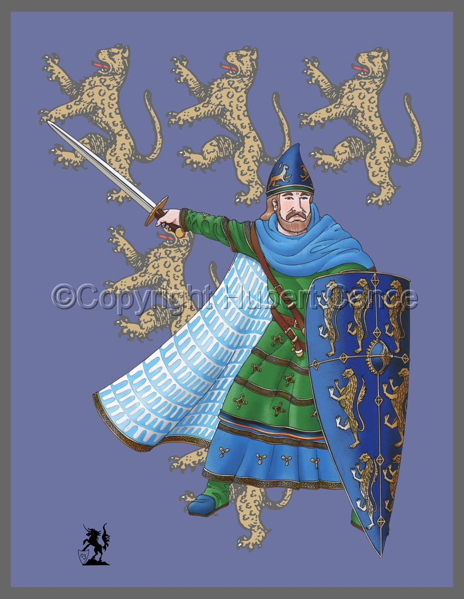 Geoffroy V, Plantagenet, Count of Anjou (Banner) (large view)