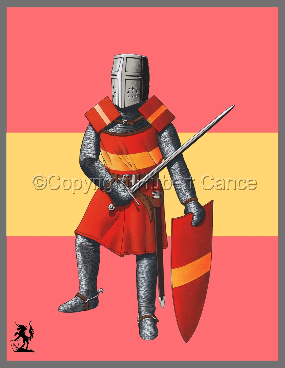 French Knight (XIIIth. Century) (Banner) (large view)