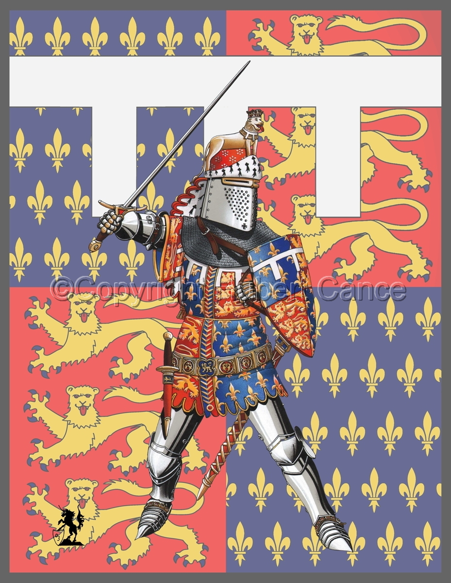 Edward of Woodstock, Black Prince (1376) (Banner) (large view)