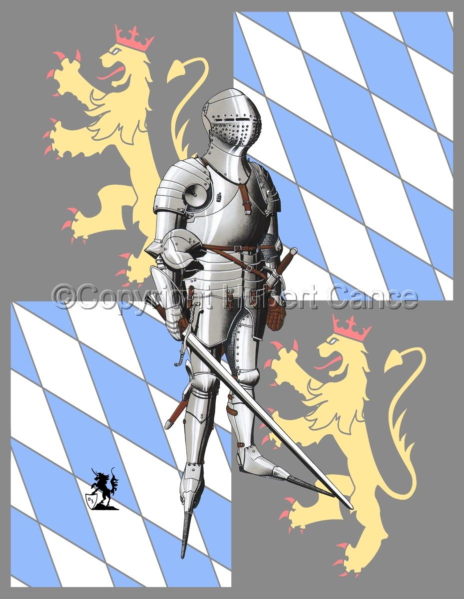 Kurfursft Friedrich I von der Pfalz (Banner) (large view)