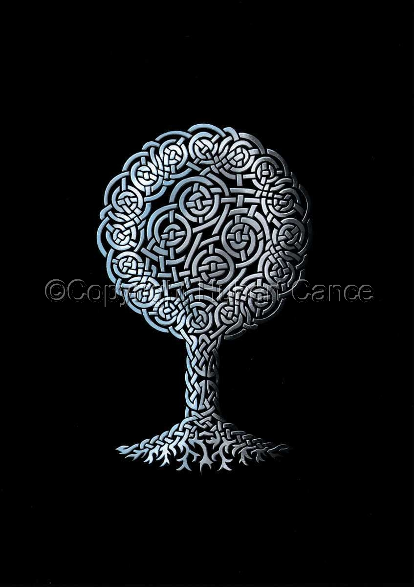 "Endless ""Yggdrasil"" Silver (large view)"