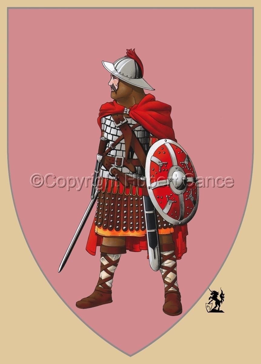 Guard of Emperor Carolus Magnus (800) (Shield) (large view)