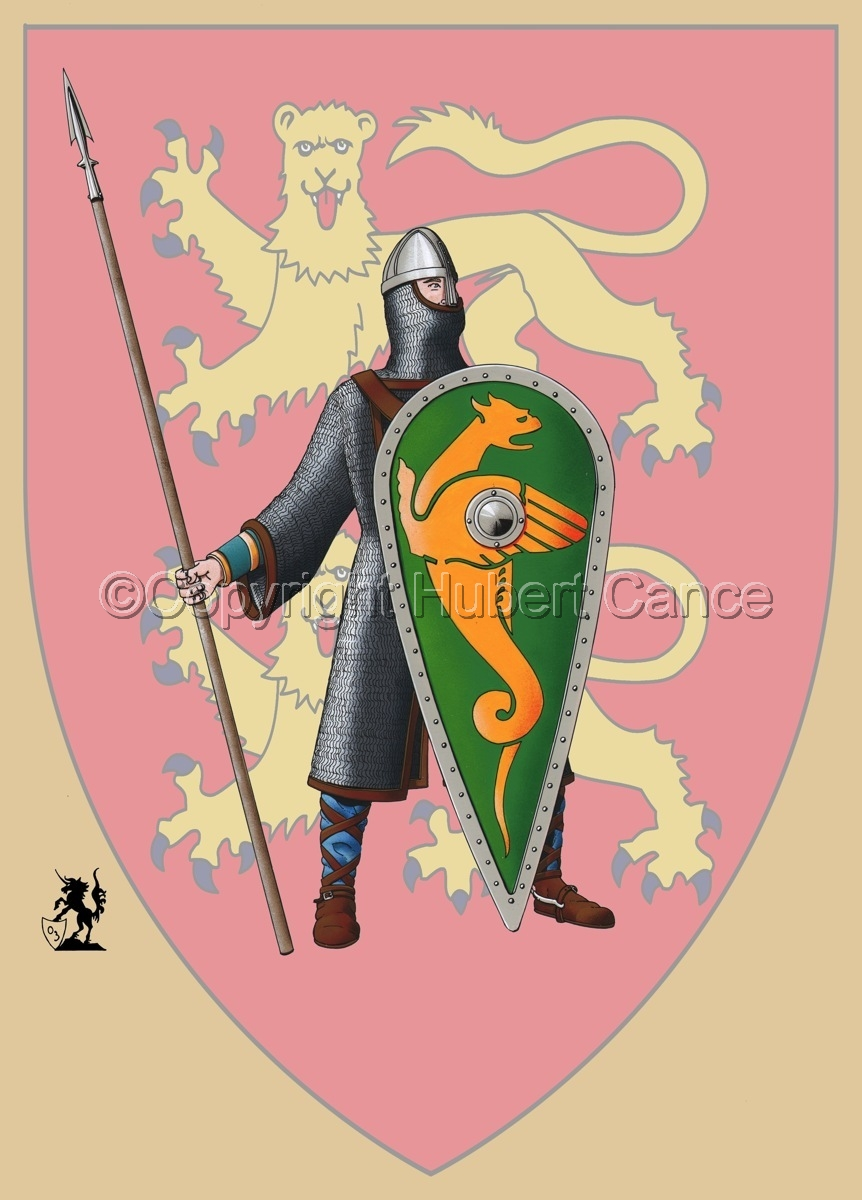 Normand Knight, Hastings (1066) (Shield) (large view)