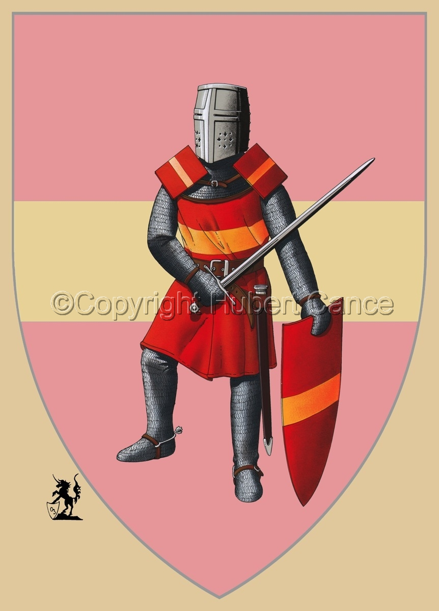 French Knight (XIIIth. Century) (Shield) (large view)