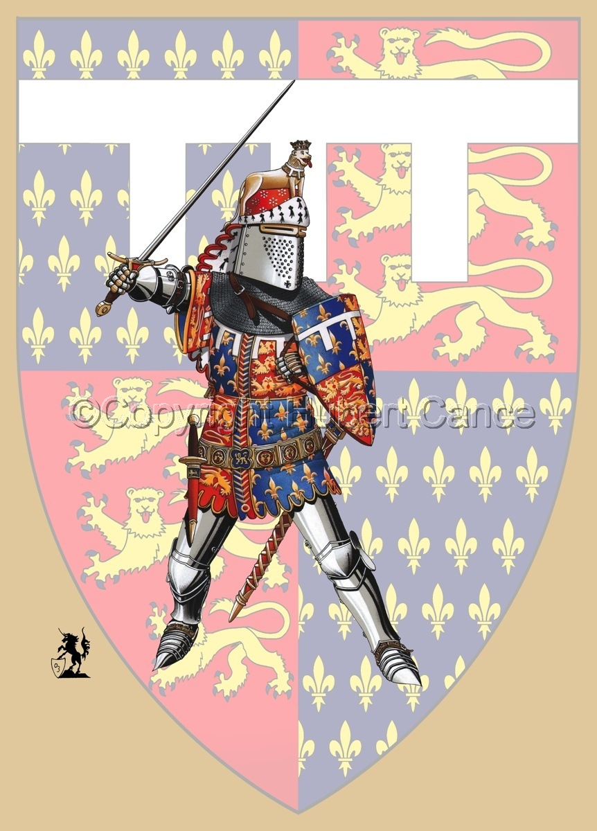 Edward of Woodstock, Black Prince (1376) (Shield) (large view)