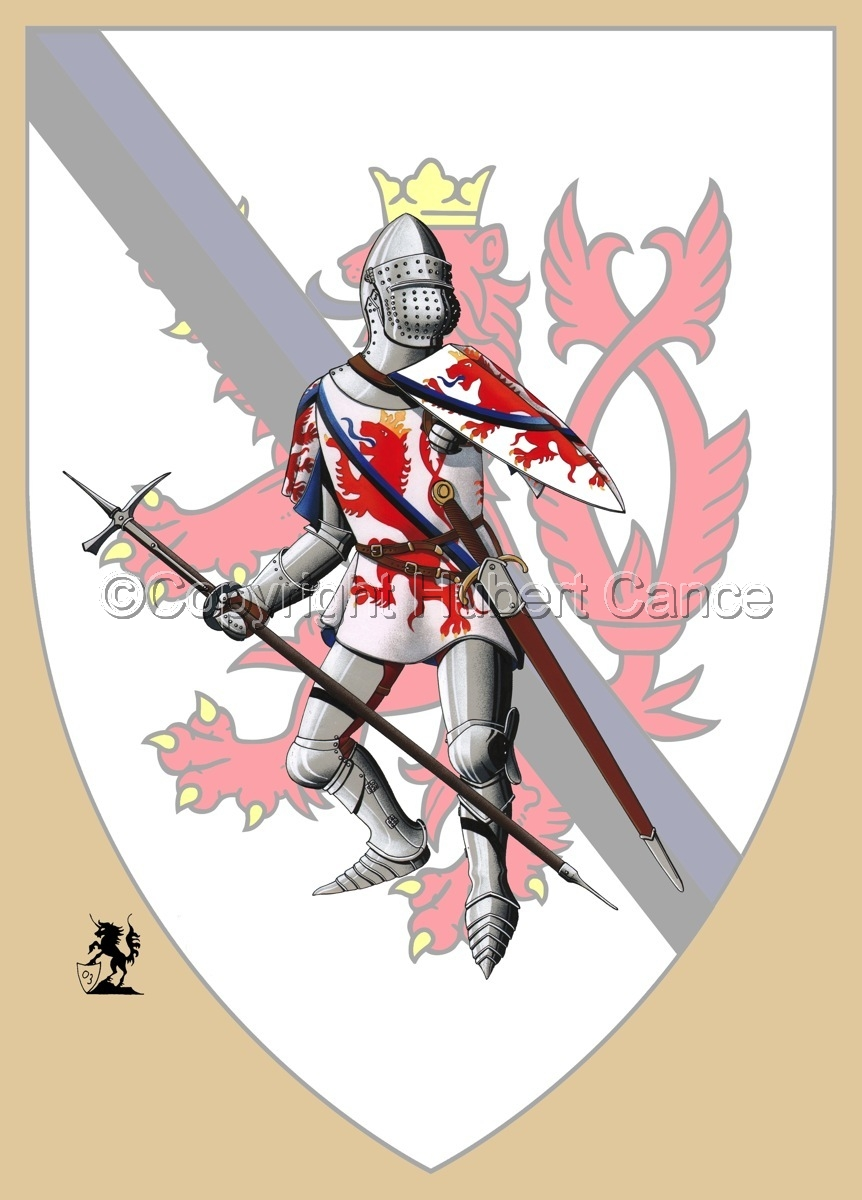 Jean of Luxembourg (1466) (Shield) (large view)