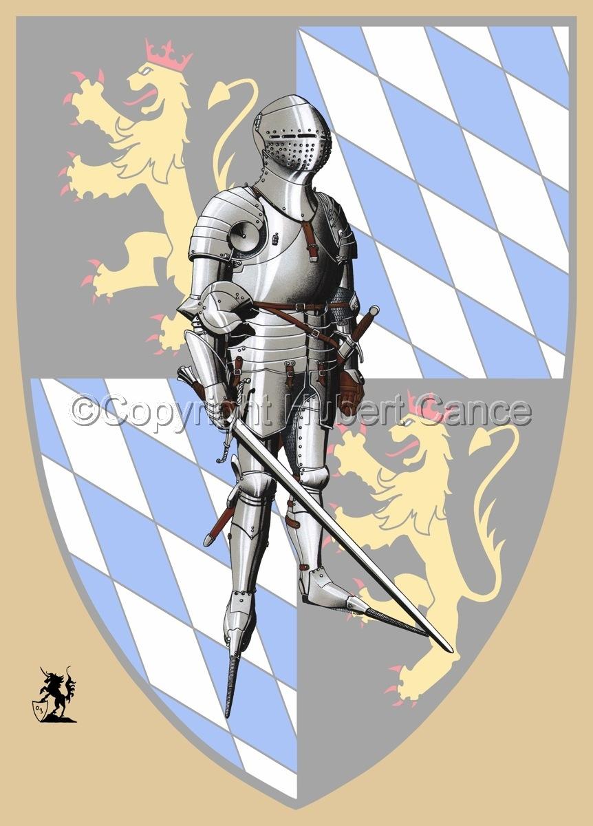 Kurfursft Friedrich I von der Pfalz (Shield) (large view)